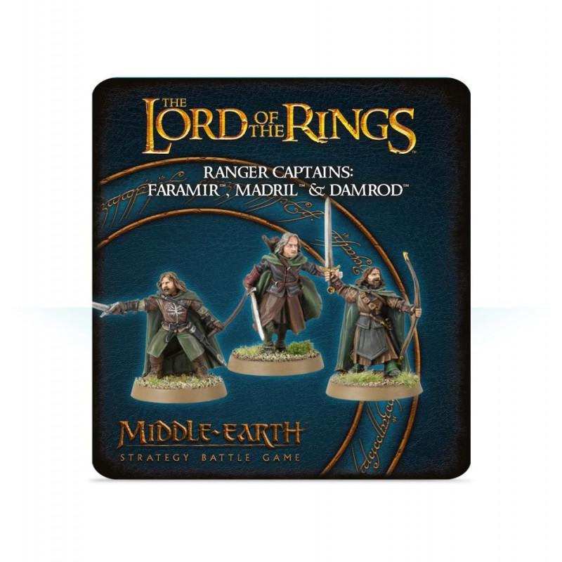 Ranger Captains: Faramir, Madril & Damrod