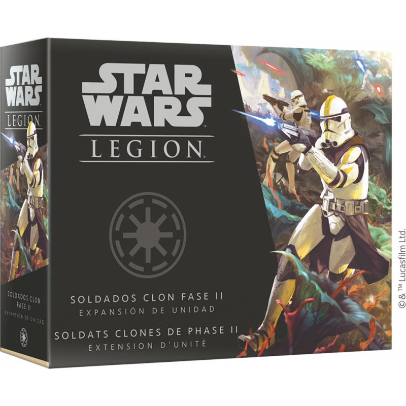 Star Wars Légion : Soldats Clones de Phase II