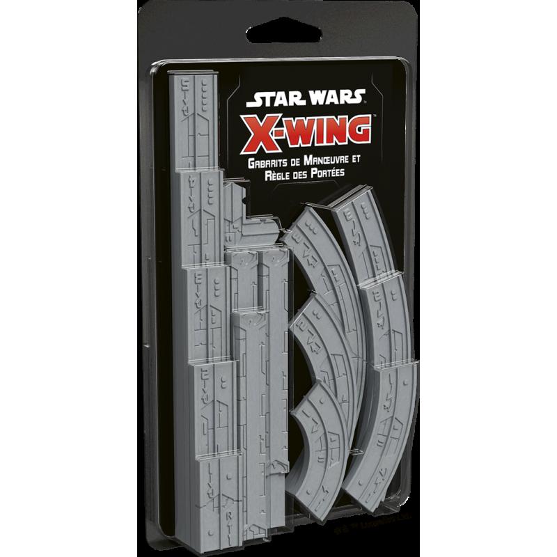 Star Wars X-Wing 2.0 : Gabarits de Manœuvre & Règle des Portées