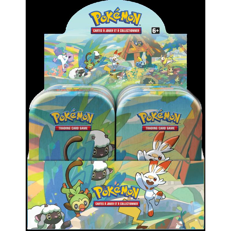 Pokémon : Mini Pokébox Compagnons de Galar Avril 2020