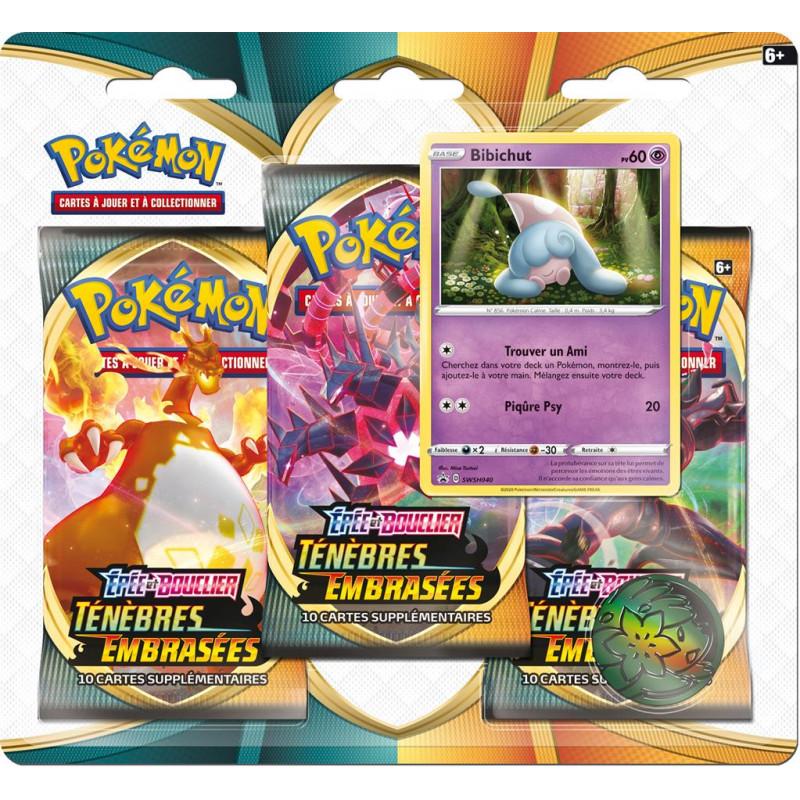 Pokémon : Pack 3 boosters de Fin d'Année 2020
