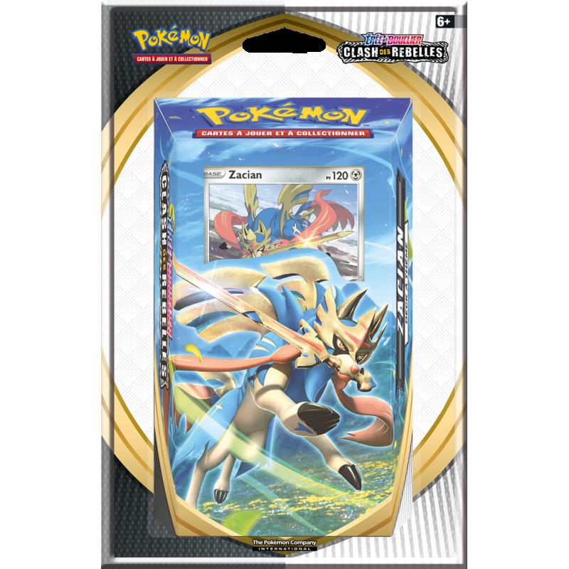 """Pokémon Épée et Bouclier 02 """"Clash des Rebelles"""" : Starter (Blister)"""