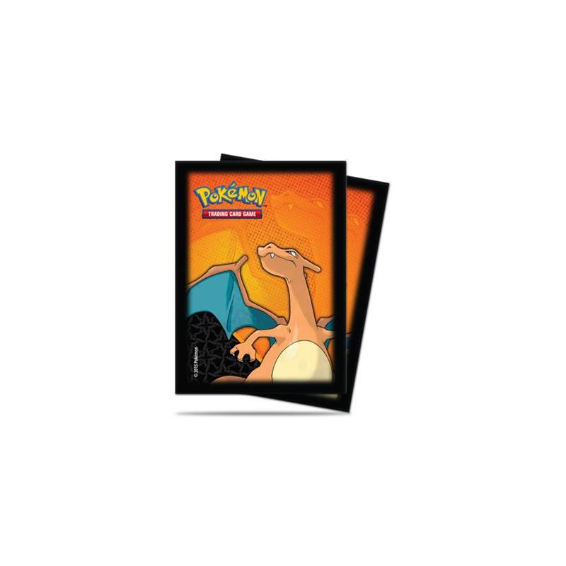 Pokémon : Sachet de 65 sleeves Dracaufeu