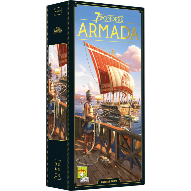 7 Wonders (Nouvelle Édition) : Armada (Extension)