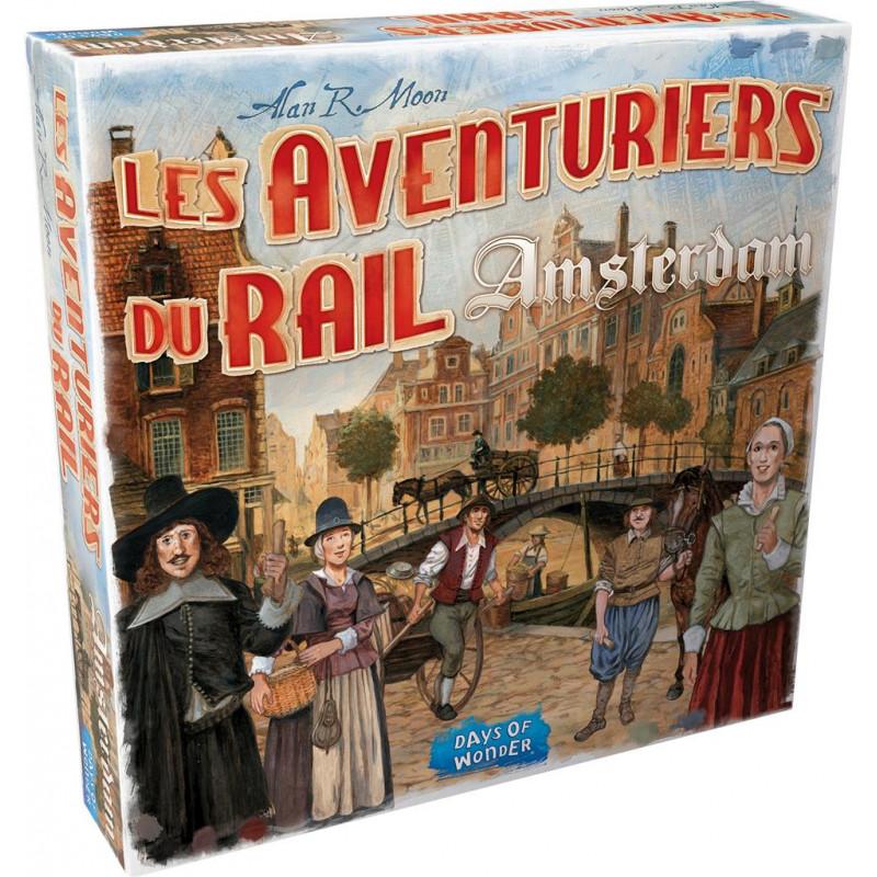 Aventuriers du Rail (Les) : Amsterdam
