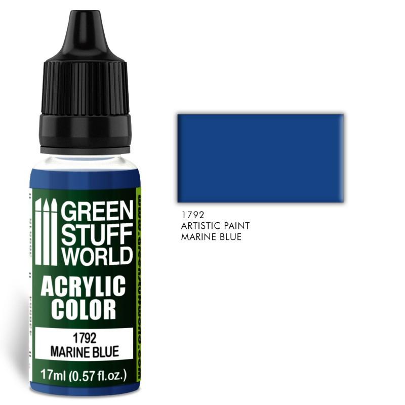 Acrylic Color MARINE BLUE