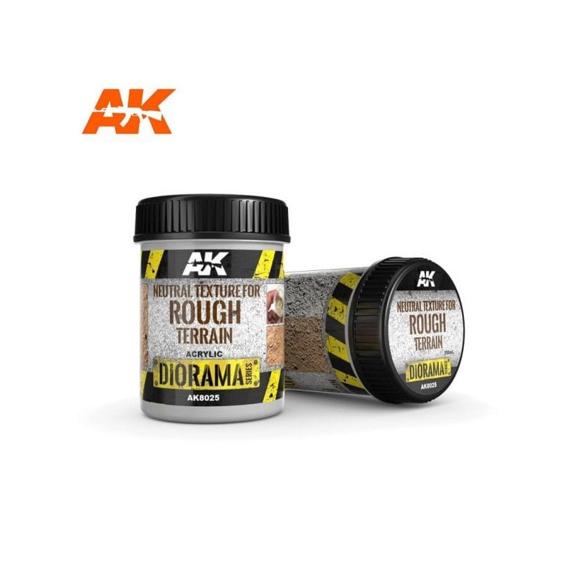 NEUTRAL TEXTURE FOR ROUGH TERRAINS - 250ml - Base product (Acrylic) - AK