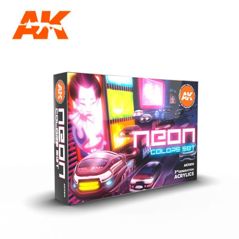 NEON COLORS SET - AK