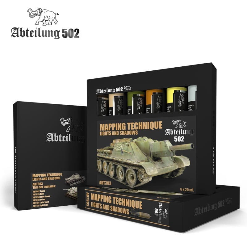 ABT302 - Oil - VEHICLE WEATHERING AND EFFECTS SET