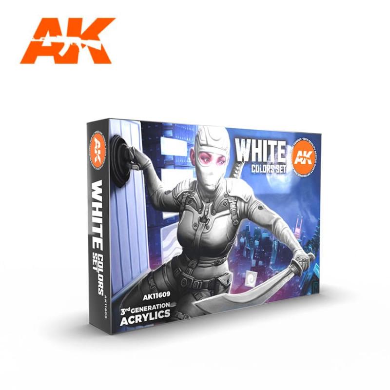 WHITE COLORS SET - AK