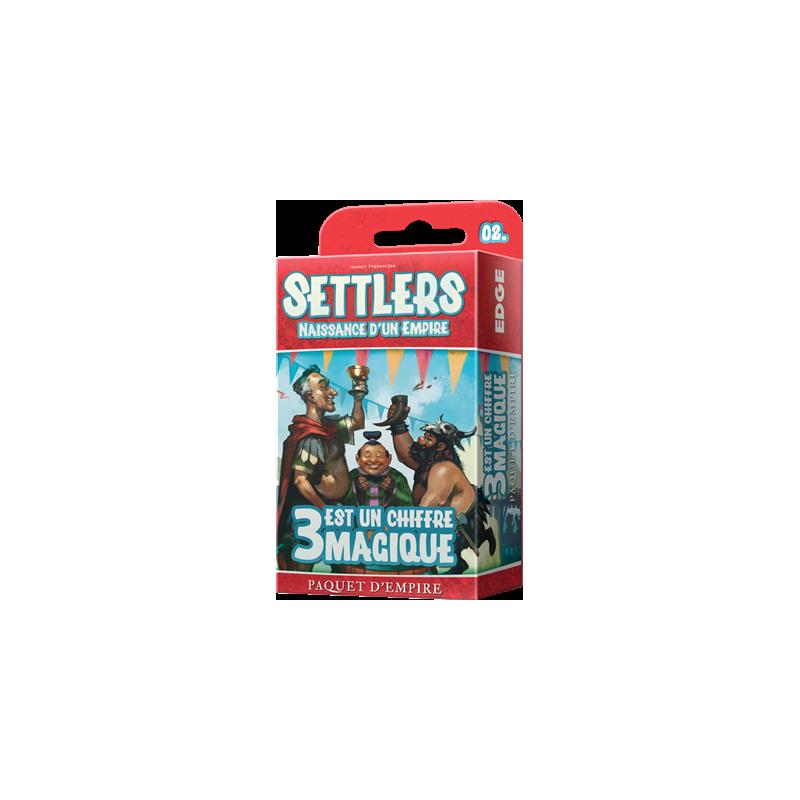 Settlers : 3 est un chiffre magique (Extension)