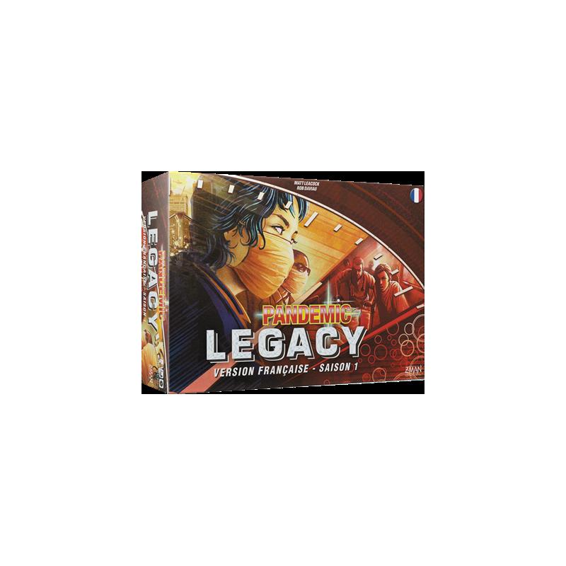 Pandemic Legacy : Saison 1 (Rouge)