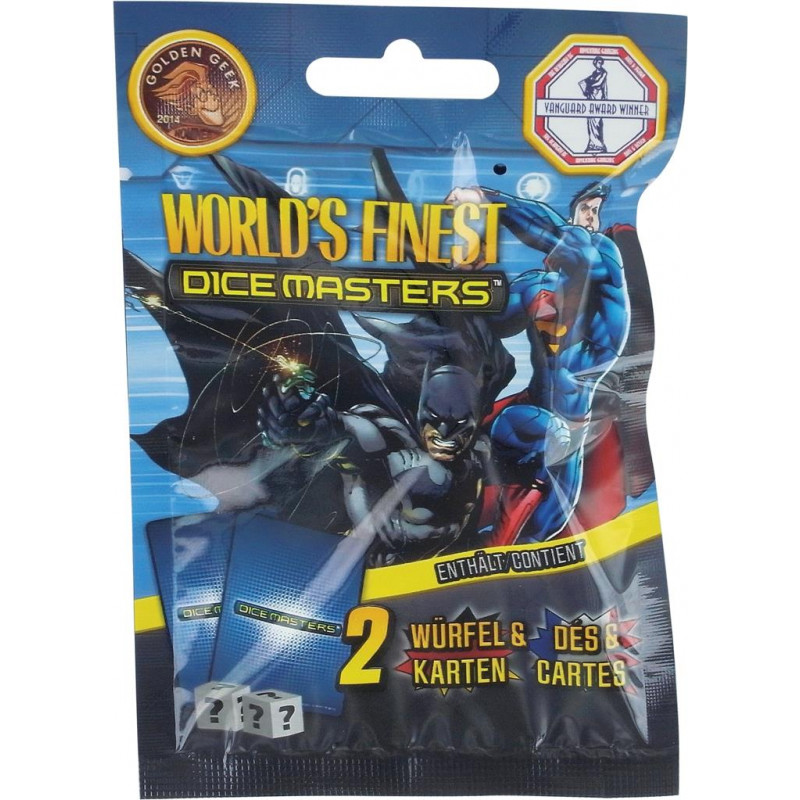 DC Dice Masters : Booster World's Finest