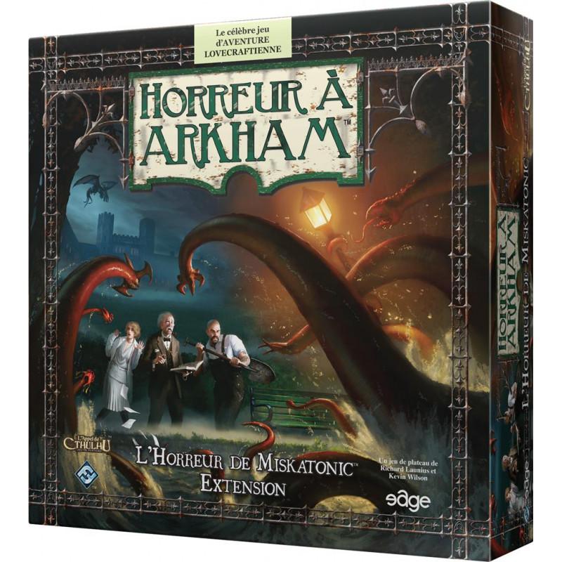 Horreur à Arkham : L'Horreur de Miskatonic (Extension - Compatible 2nd édition)