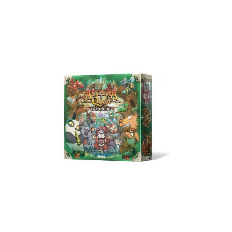 Arcadia Quest : Familiers (Extension)