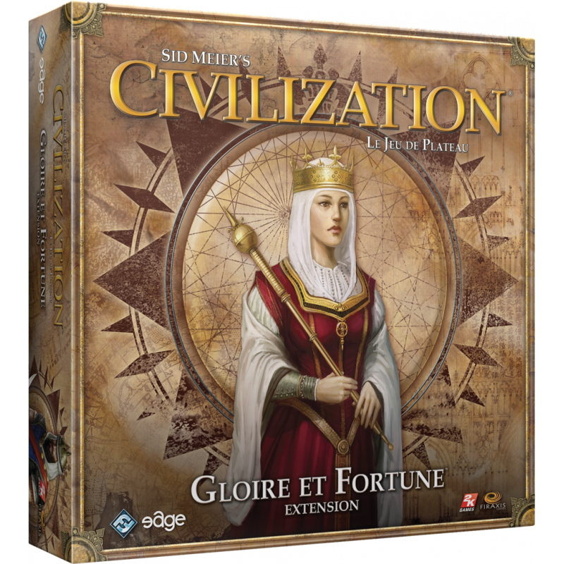 Civilization : Gloire et Fortune (Extension incompatible Aube Nouvelle)