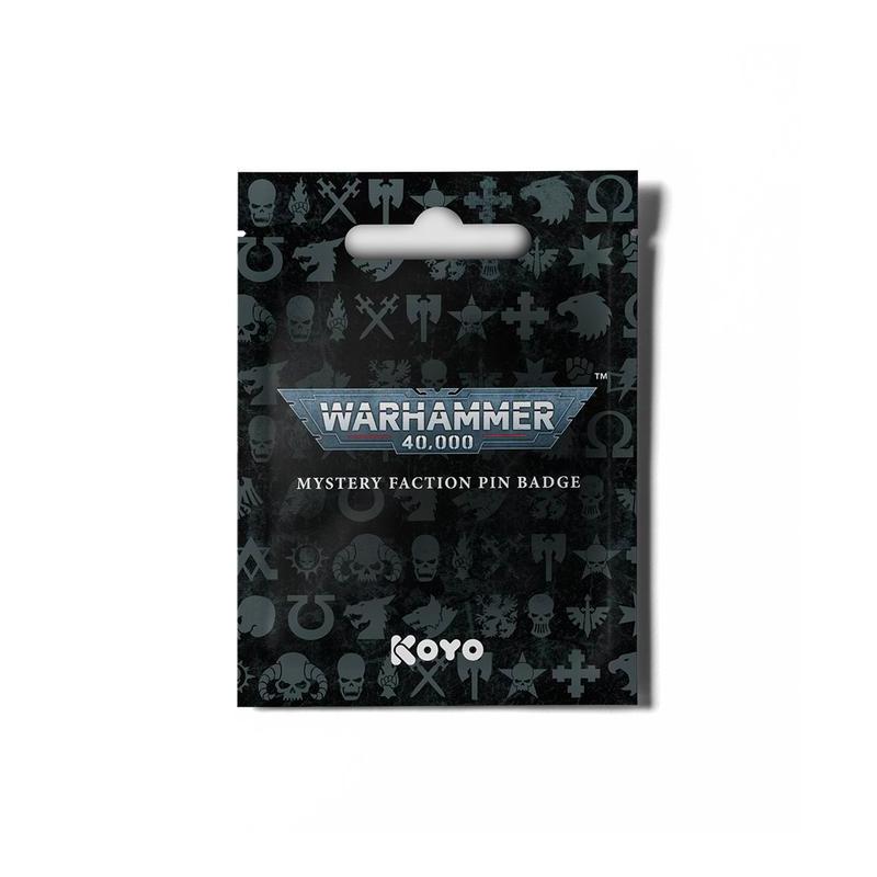 Warhammer 40,000 - Badge de faction mystère