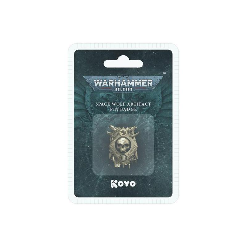 Warhammer 40,000 Space Wolf 3D Artifact Pin