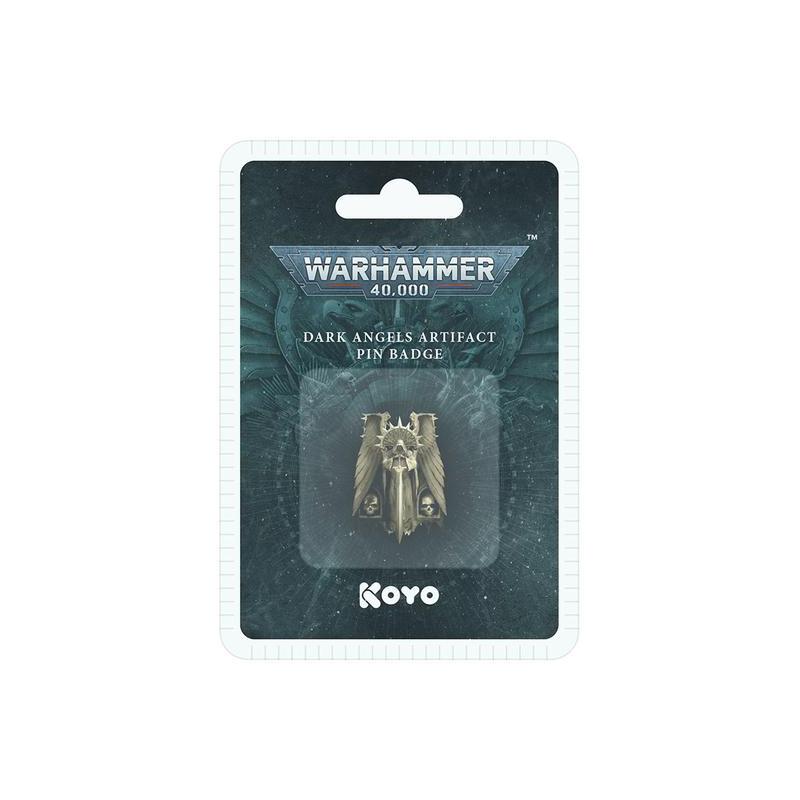 Warhammer 40,000 Dark Angels 3D Artifact Pin